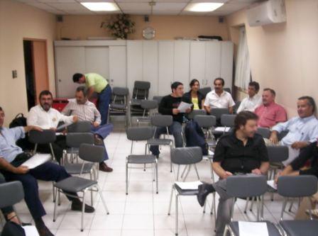 Reunión No a la Termoelectrica Los Robles