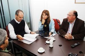 Int. Galilea con senadora Rincón y diputado León en 2011
