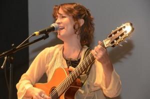 La cantante argentina, Vanina Fernández