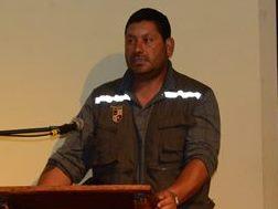 MARIO LARA Dirigente pescadores Loanco